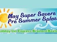 May Super Savers Pre Summer Splash
