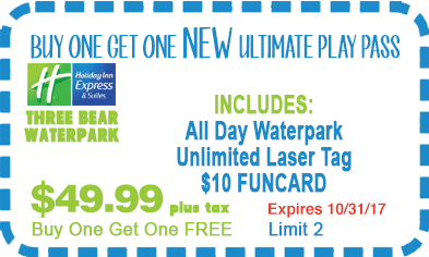 Buy One Get One Ultimate Play Pass Coupon