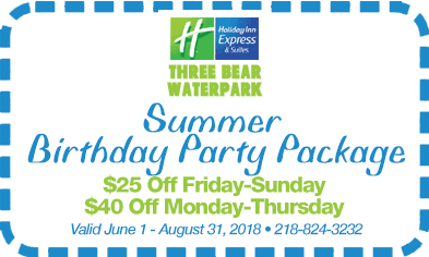 Summer Birthday Party Package Coupon