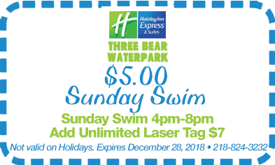 $5 Sunday swim coupon