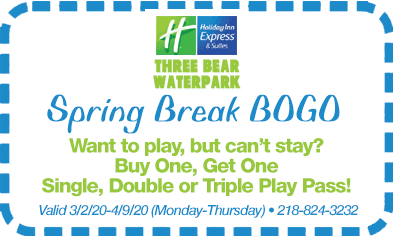 Spring Break BOGO Special